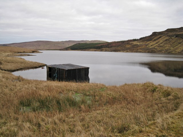 Boathouse on Loch Duagrich