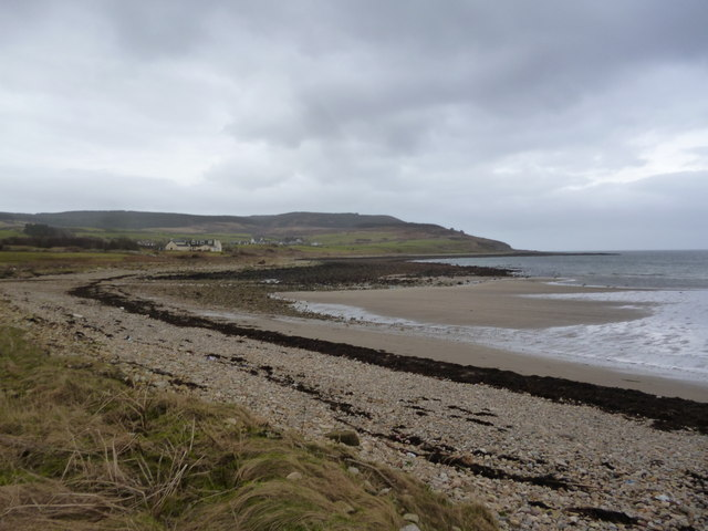 Blackwaterfoot beach
