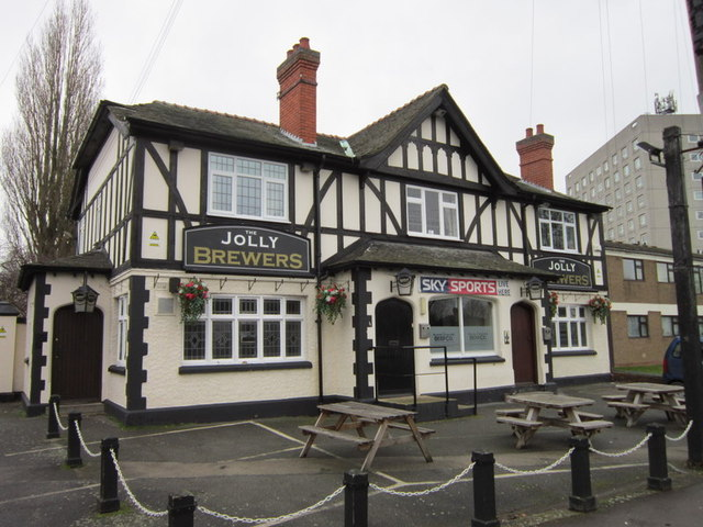 The Jolly Brewers on Clifton Road