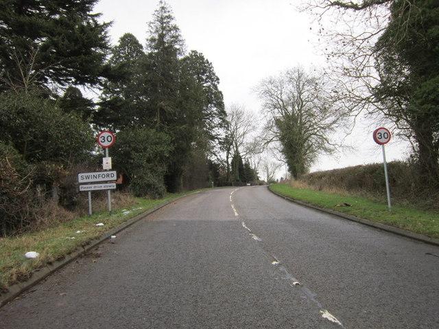 Rugby Road, Swinford