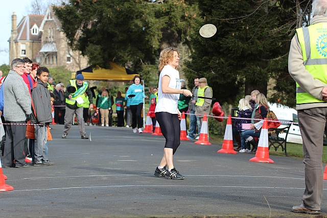 Pancake Race in Priory Park on Valentine's Day