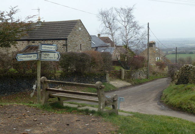 Alton village, looking down Alton Hill