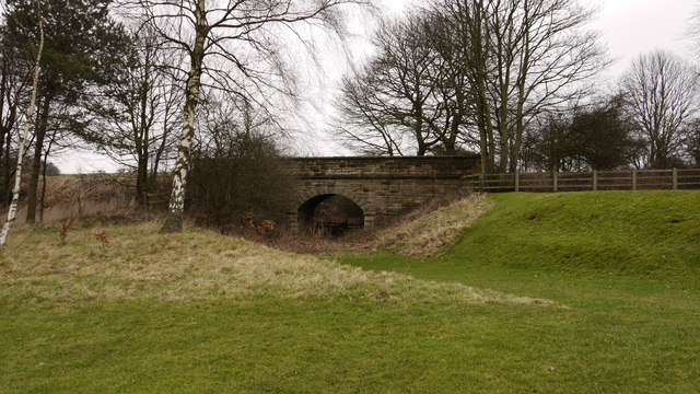 Bridge carrying route of old railway