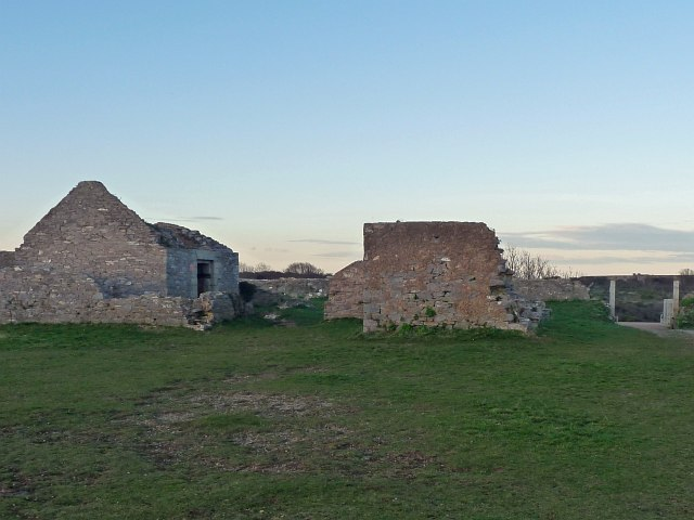 Former Guard House & Powder Store, Berry Head