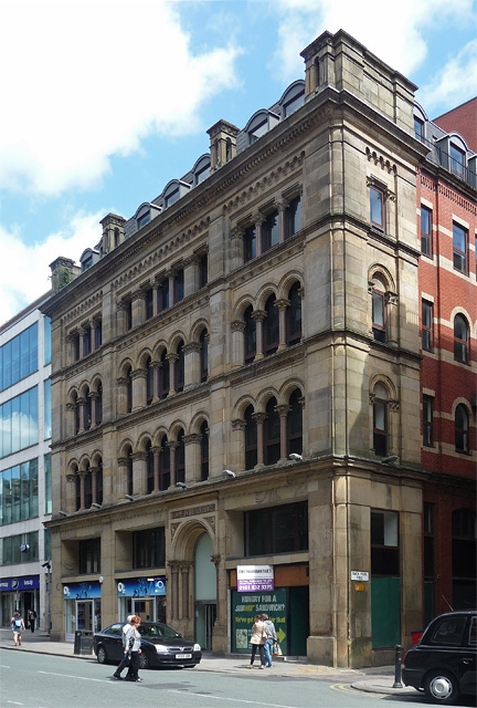 Commercial Buildings, Cross Street, Manchester