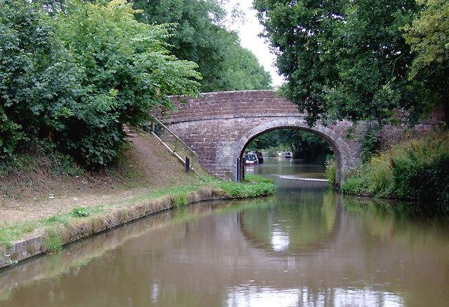 Hallemans Bridge west of Soudley, Shropshire