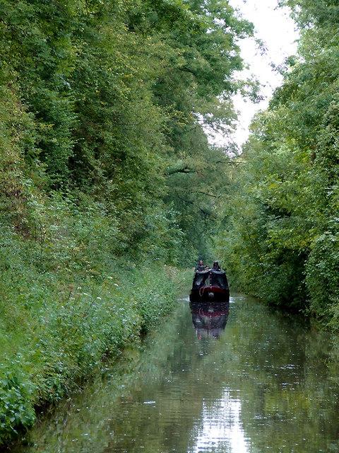 Woodseaves Cutting north of High Bridge, Shropshire