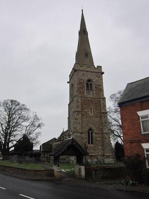 All Saints Church, Theddingworth