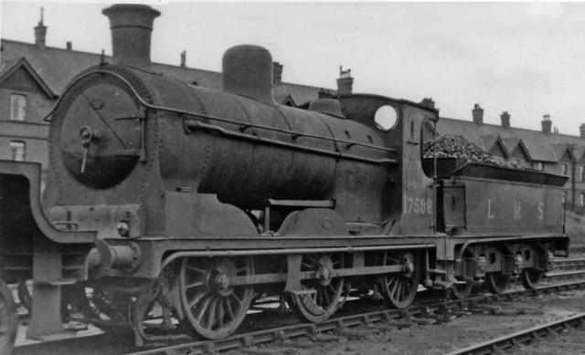Ex-Caledonian '812' class 0-6-0  Corkerhill Locomotive Depot
