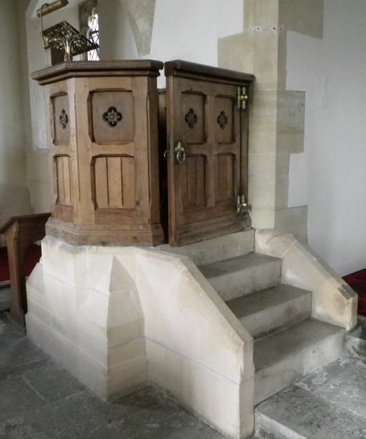 Pulpit, The Church of St Mary the Virgin