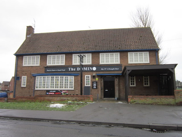 The Domino public house on Kingsthorpe Avenue