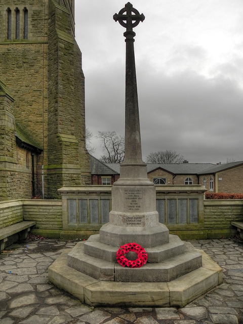 War Memorial, St Ambrose Church, Leyland