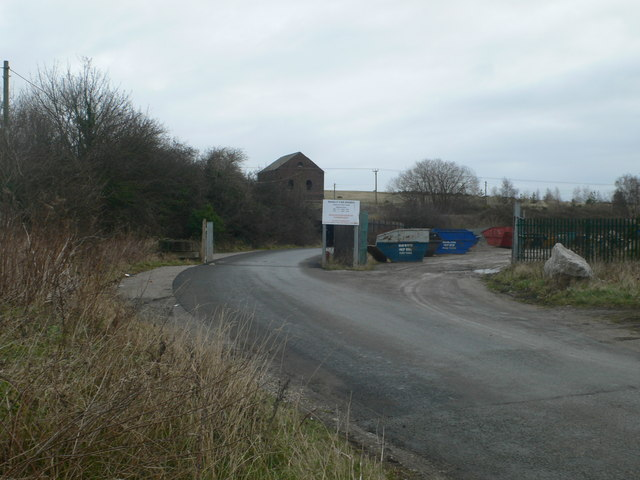 Road to Bettisfield Colliery