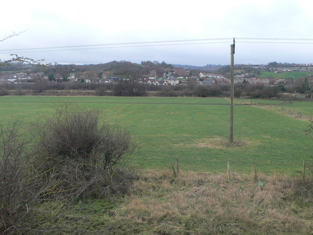Looking west towards Whelston from the Coast Path