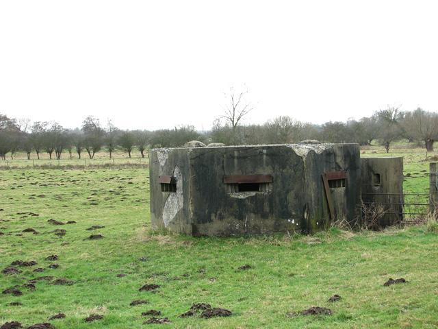 WWII pillbox, Stratford St Andrew