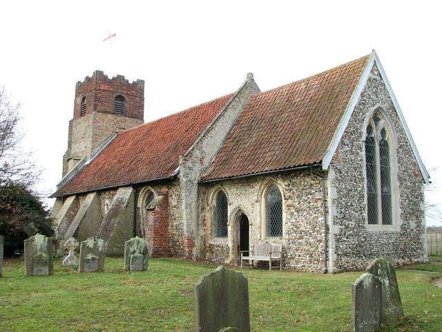 St Mary's church in Farnham