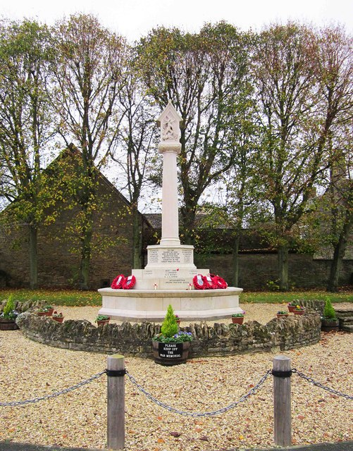 Bampton War Memorial, Market Square, Bampton, Oxon