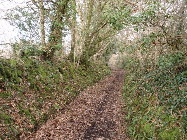 Hen heol Llandybie old Road