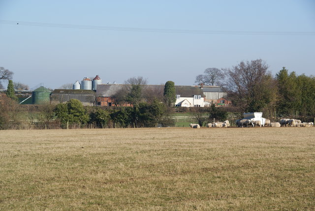 Farm on the edge of Bednall