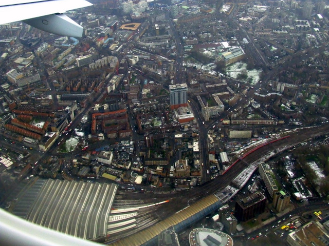 Lambeth from the air