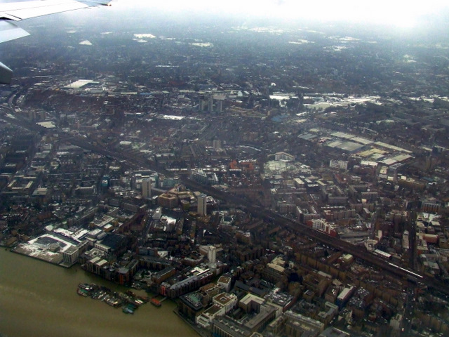 Bermondsey from the air