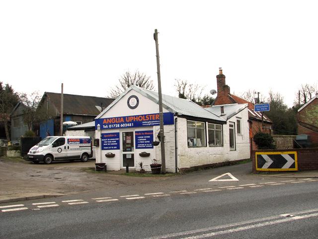 Business premises on the Farnham Industrial Estate