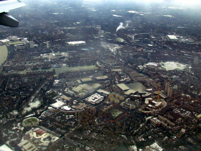 Rotherhithe from the air