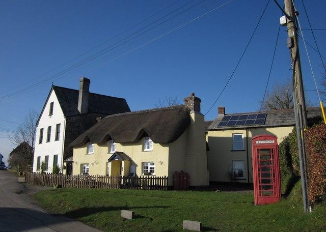 Houses at Ashwater