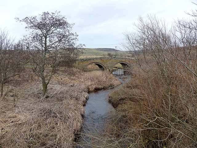 Elsdon Burn and Elsdon Bridge