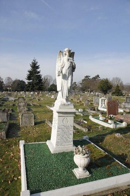 Angel on the plinth