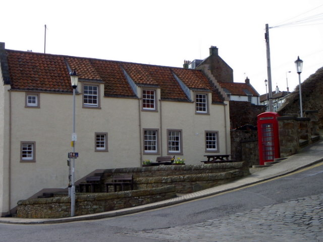 Telephone box, Anstruther Easter