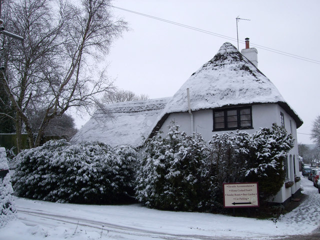 Thatched cottage, Mildenhall