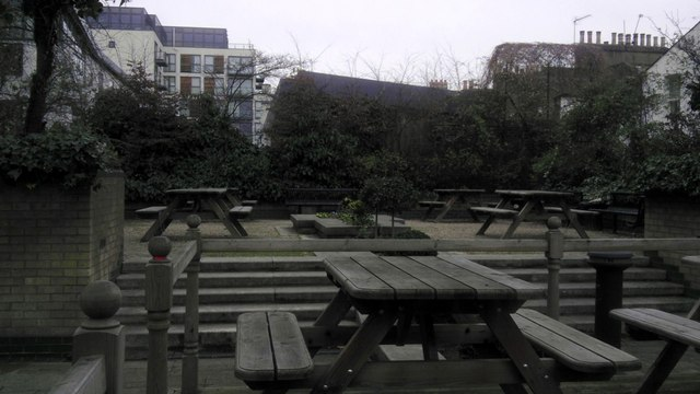 Garden at Chelsea and Westminster Hospital