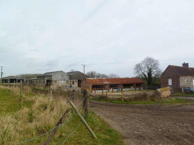 Crichel Mill, farm buildings