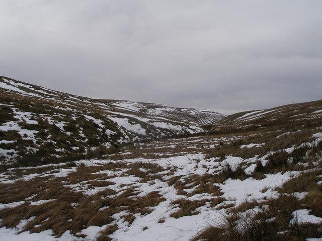 Upper Windleden valley