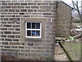 SE1801 : Cut mark on window surround at Bordhill Lodge by John Slater