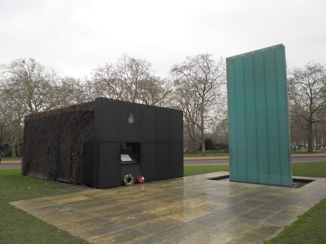 Rear of The National Police Memorial