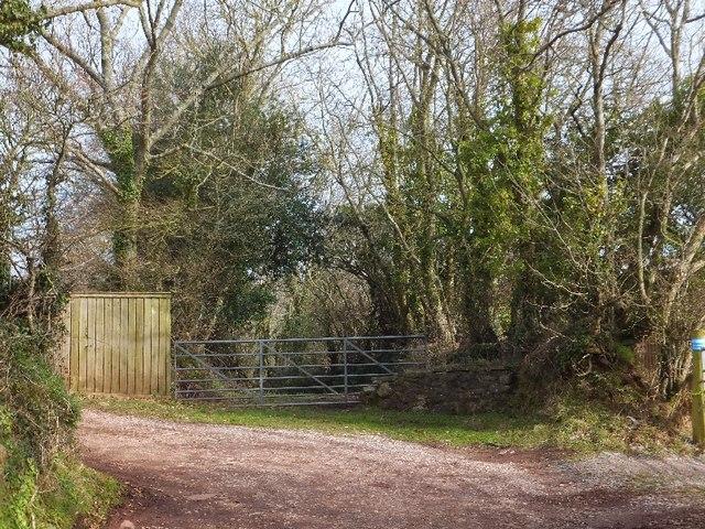 Track to Venn Farm Manor
