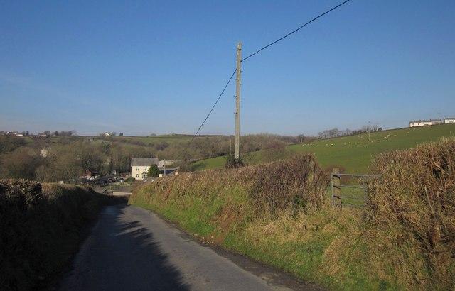 Lane to Ashmill