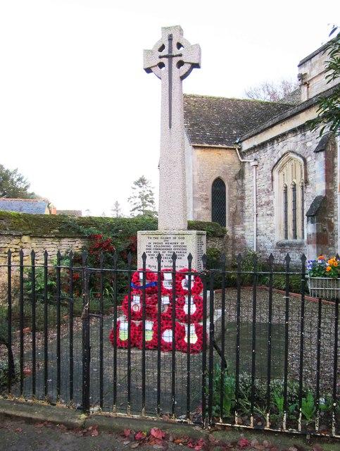 Eynsham War Memorial, Market Square, Eynsham