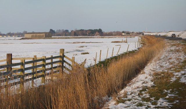 Ditch along Pett Level Road