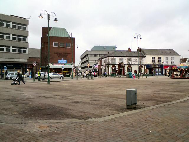 Empty Market Ground