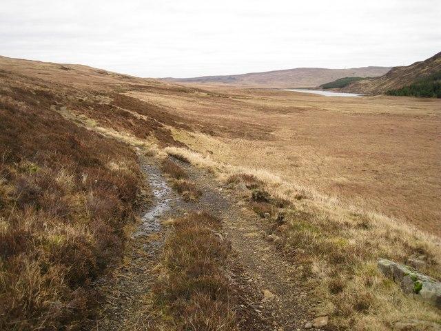 Track to Loch Duagrich