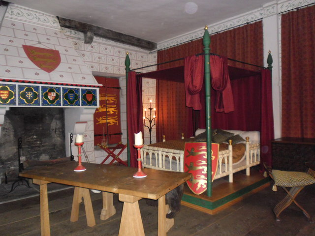 Henry III's bedchamber within The Tower of London
