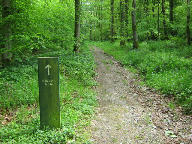 The path to Robber's Gate