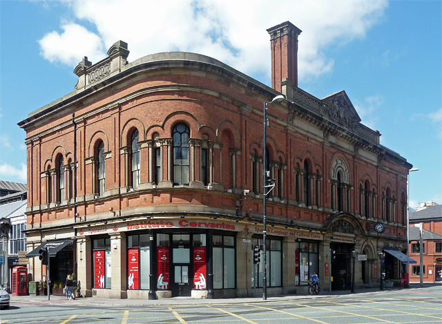 Former Free Library, Deansgate, Manchester