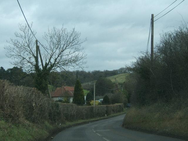 Over Lane near Bristol Golf Course