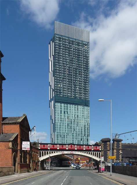 Beetham Tower, Deansgate, Manchester