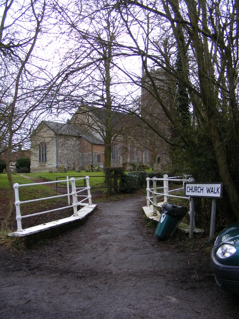 Church Walk, Laxfield