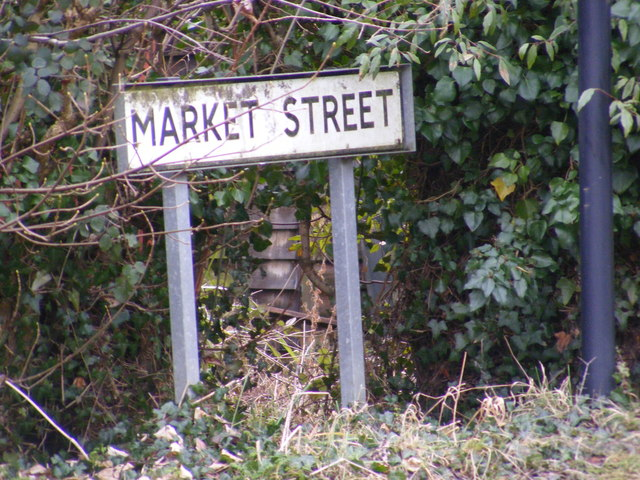 Market Street sign